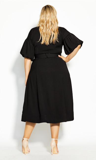 Golden Hour Dress - black