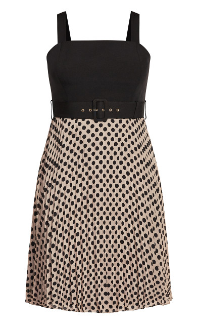 Spot Gloria Dress - doe
