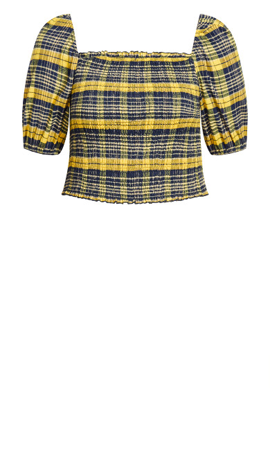Clueless Top - yellow