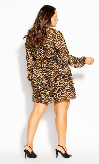 Cute Animal Dress - ochre