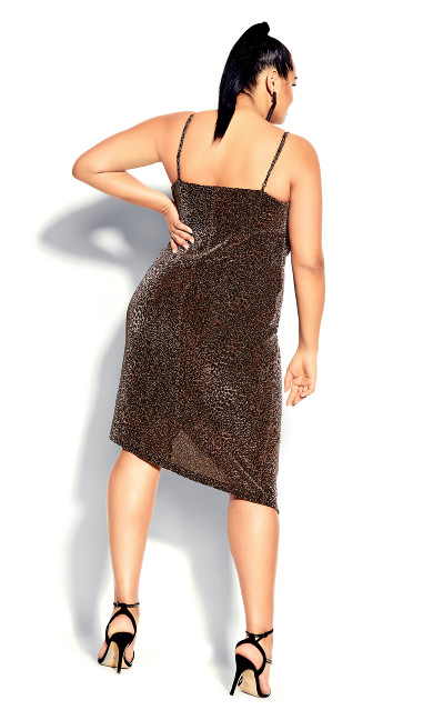 Madam Chelsea Dress - bronze