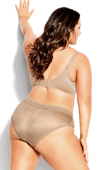 Adore Back Smoother Push Up Bra - latte