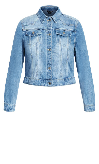Classic Denim Jacket - light denim
