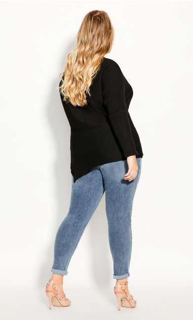 Lean In Jumper - black