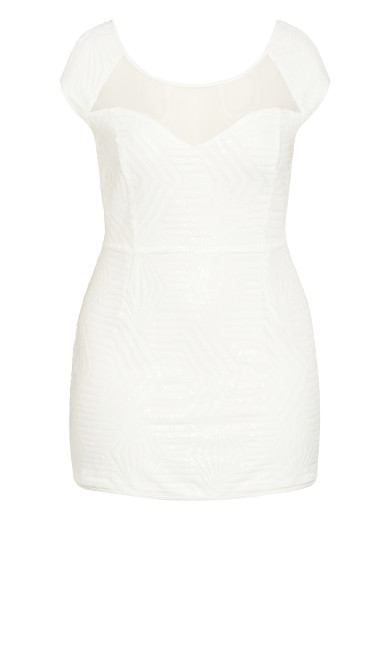 After Glow Dress - white