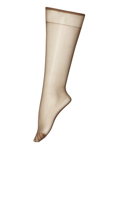 Knee High Socks - beige