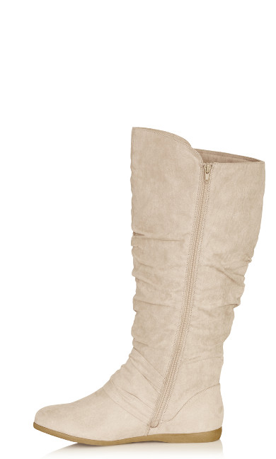 Sasha Tall Boot - beige