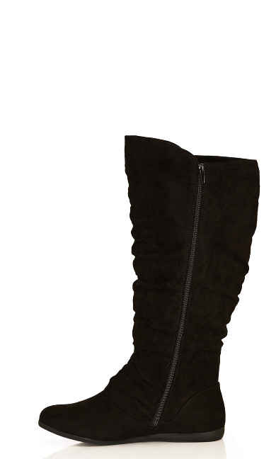 Sasha Tall Boot - black