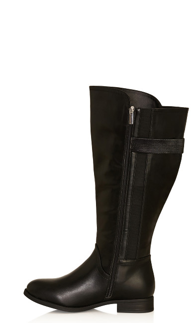 Lina Tall Boot - black