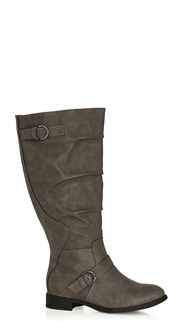 Plus Size Gabby Tall Boot - gray