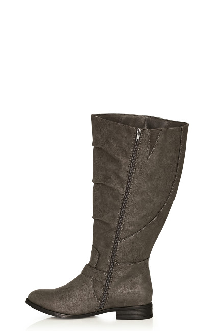 Gabby Tall Boot - gray