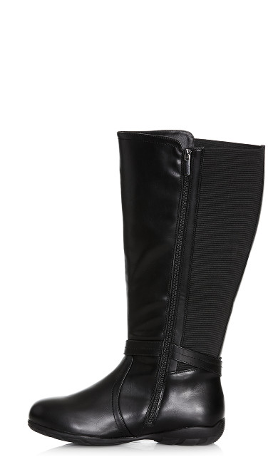 Vera Tall Boot - black