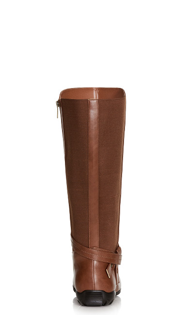 Vera Tall Boot - brown