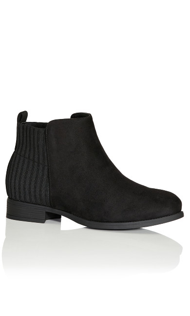 Plus Size Jasmyn Ankle Boot - black