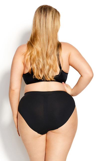 Smooth Embrace Brief - black
