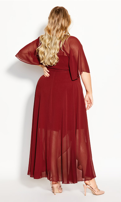 Enthral Me Maxi Dress - henna