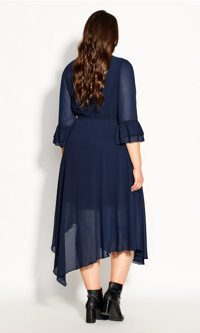 Hidden Treasure Maxi Dress - navy