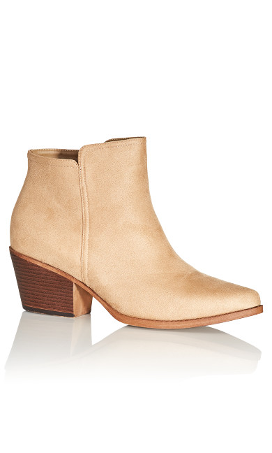 Kim Ankle Boot - beige