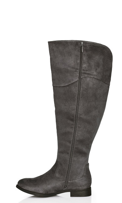 Nadia Tall Boot - gray
