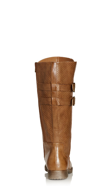 Norwalk Tall Boot - cognac