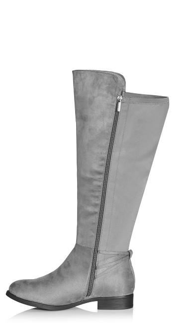 Phoenix Tall Boot - gray