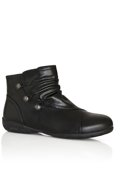 Plus Size Marnie Ankle Boot - black