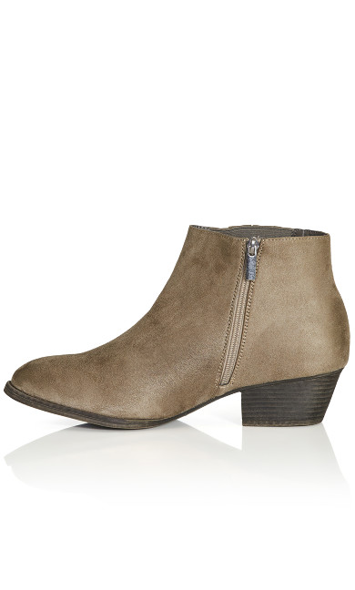 Naples Ankle Boot - gray