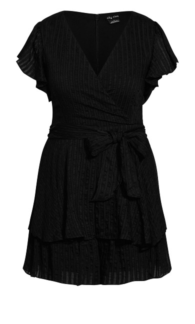 First Date Playsuit - black