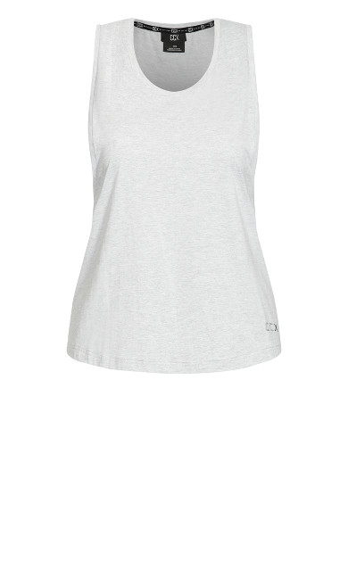 Sweat It Out Tank Top - grey