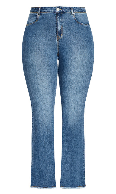 Harley Classic Flare Jean - light wash