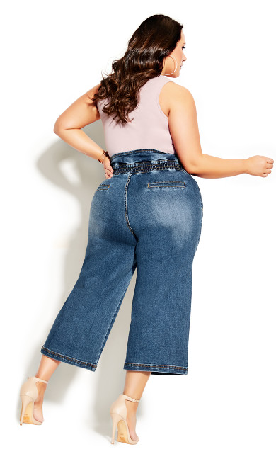 Harley Denim Culotte Jean - denim
