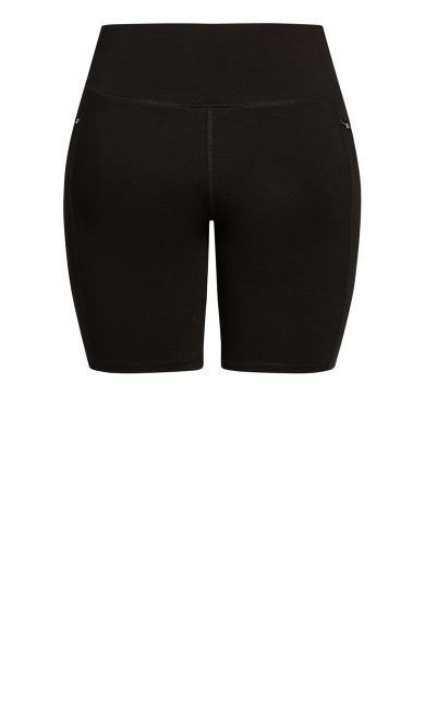 Let's Go Bike Short - black