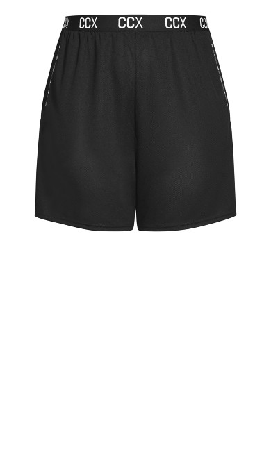 Knock Out Short - black