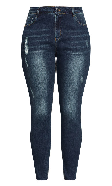 Harley Crush Skinny Jean - dark denim