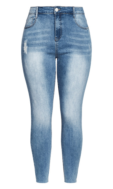 Harley Crush Skinny Jean - denim