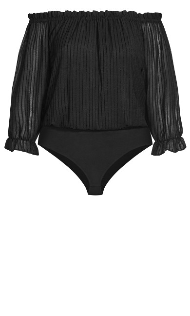 Sweet Kiss Bodysuit - black
