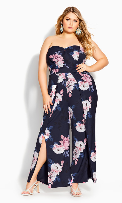 True Love Jumpsuit -  navy