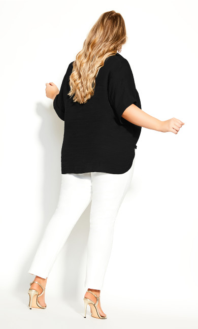 Laid Back Shirt - black
