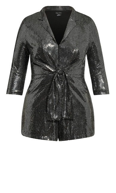 Glamour Playsuit - gunmetal