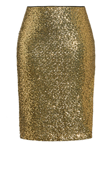 Bronzed Skirt - bronze