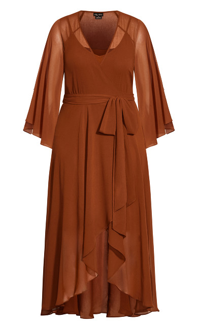 Fleetwood Maxi Dress - ginger