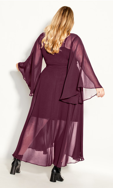 Fleetwood Maxi Dress - plum