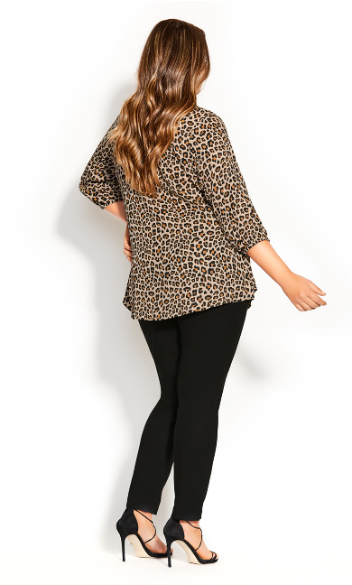 Cheetah Fling Top - cheetah