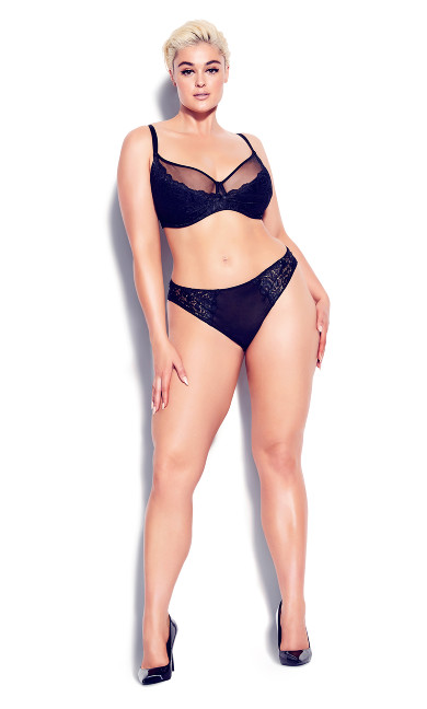 Duet Strappy Panty - black