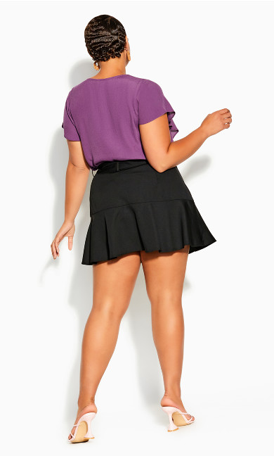 Cute Frill Skort - black