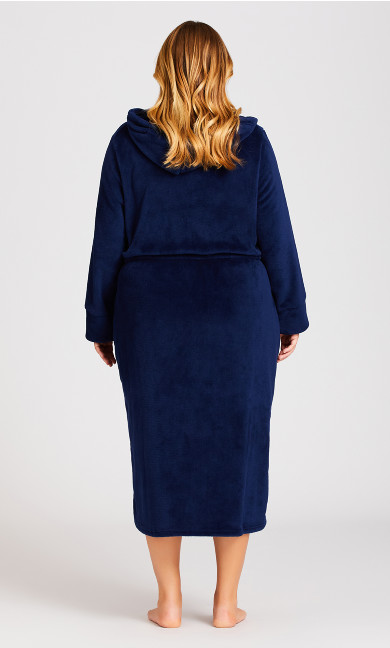 Zip Robe - navy