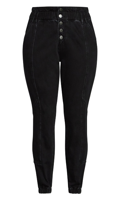 Harley Stitch Jean - black
