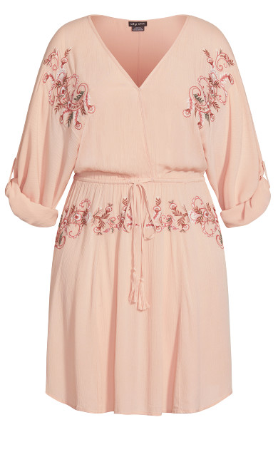 Endless Summer Tunic - peach