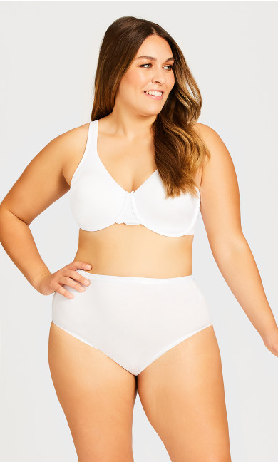Plus Size Basic Comfort Cotton Modern