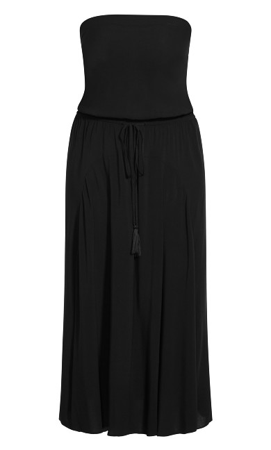 Dress Summer Nights Maxi Dress - black